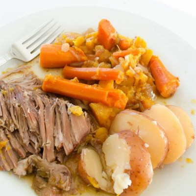Mom's Crock Pot Pot Roast