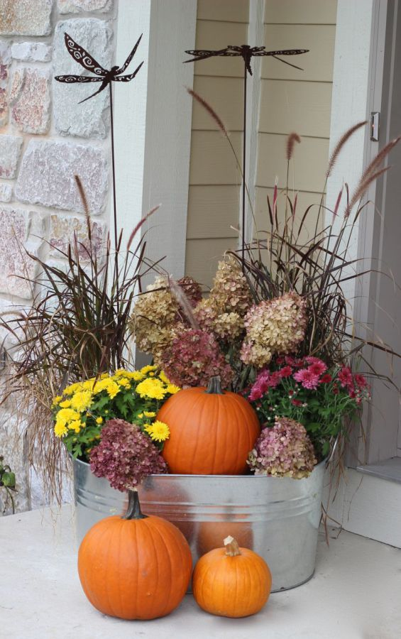 Favorite Fall Planters | Four Generations One Roof