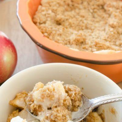 Homemade Apple Crisp Recipe