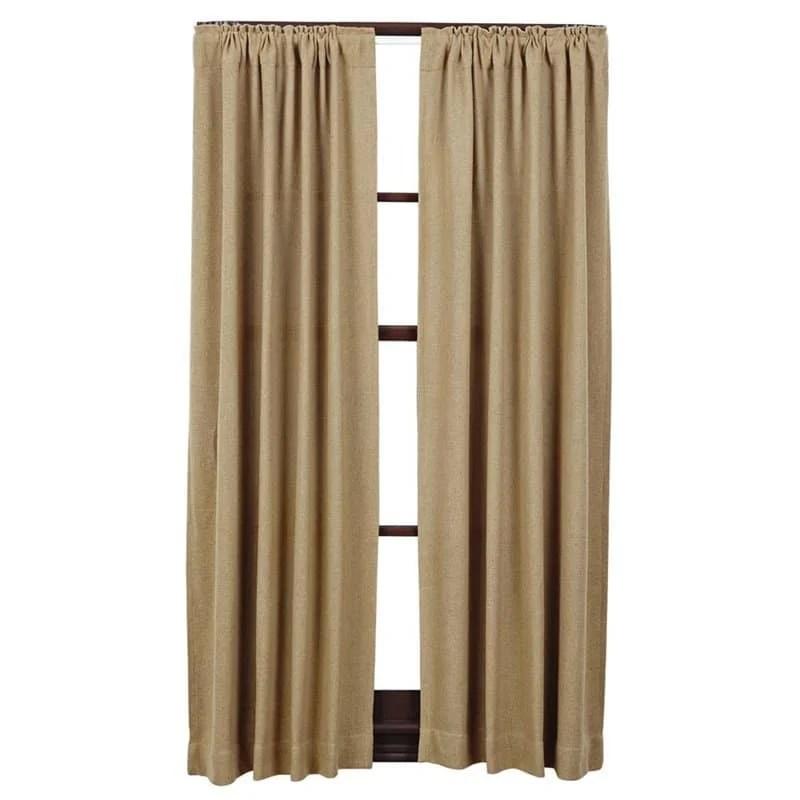 My favorite burlap curtains!