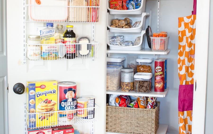 DIY Kitchen Closet Pantry Under $100