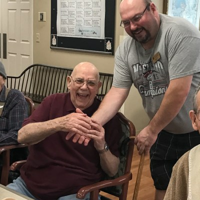 Grandfather Dementia Update + Patriots Win!