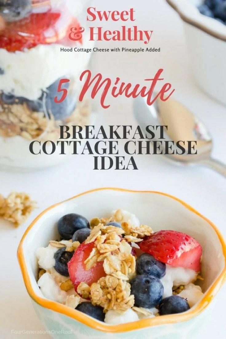 5 Minute Best Breakfast Cottage Cheese Idea