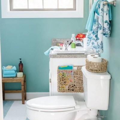 Budget Green Bathroom Spa Makeover + Gram Cancer Update