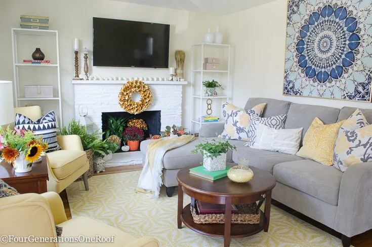 Beautiful Transitional Living Room