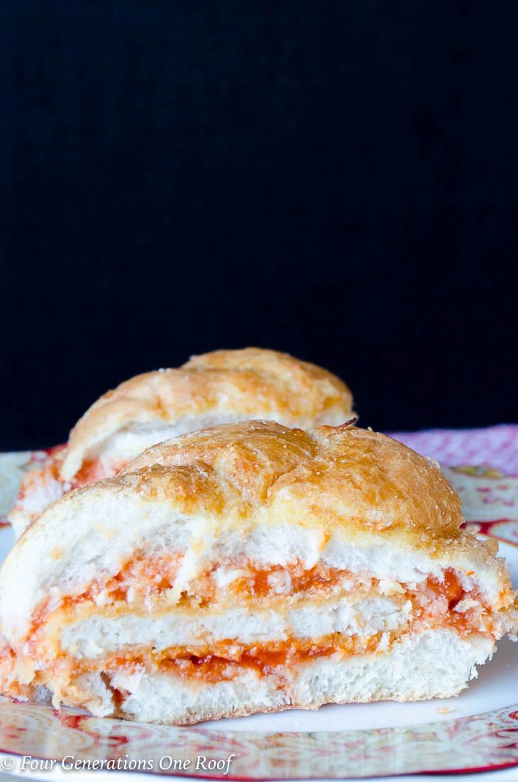 20 Minute Chicken Parmesan Sandwich