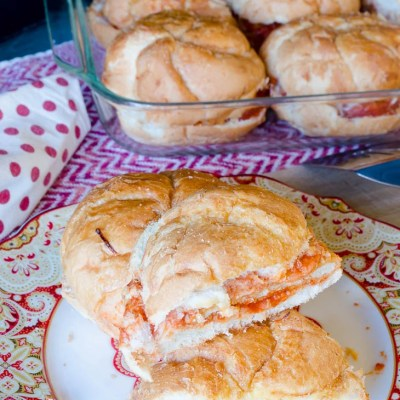 20 Minute Chicken Parmesan Sandwich + Giveaway