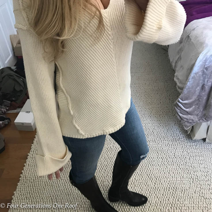 How to Avoid the Sweater Fit Dilemma: Wardrobe Wednesday