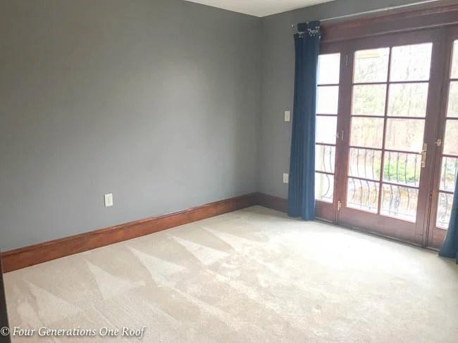 Tiny Queen Bedroom Project: The Start