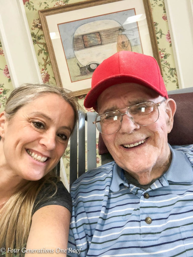 89 Years old back on the farm raising a family | grand daughter and grandfather
