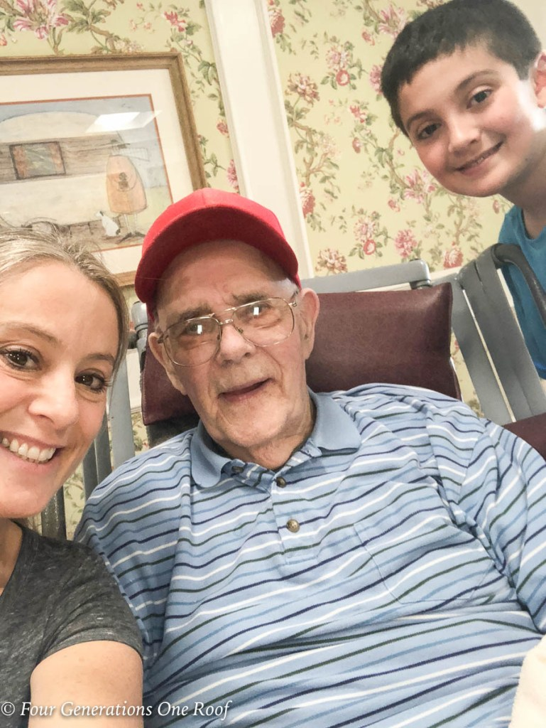 89 Years old back on the farm raising a family | granddaughter, Grandfather and Great Grandson