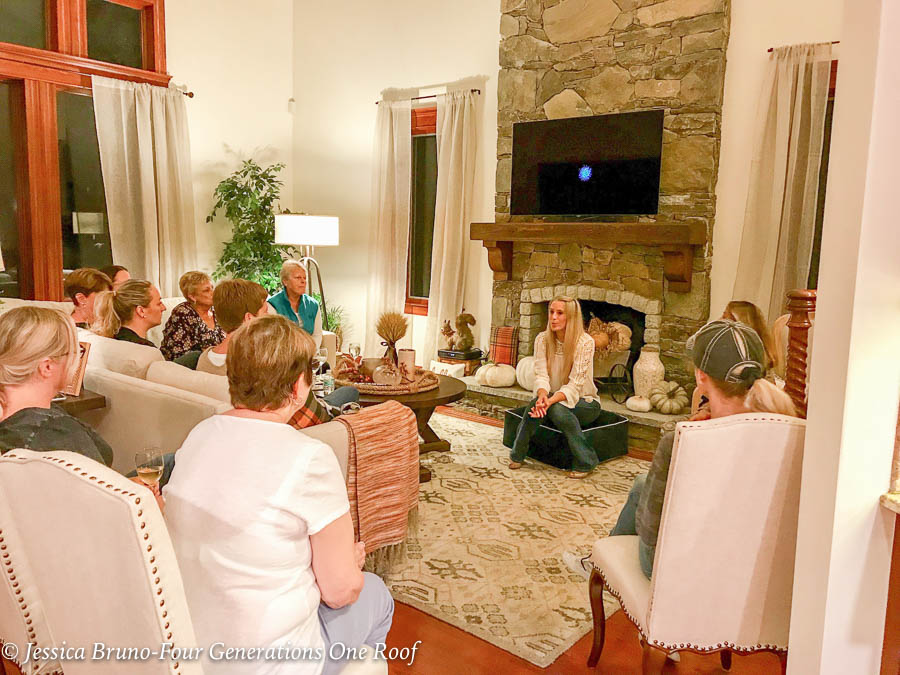 At Home Healthy Lifestyle Nutritional Cleansing and Replenishment System | group of friends sharing how to lose weight and gain energy | at home party |
