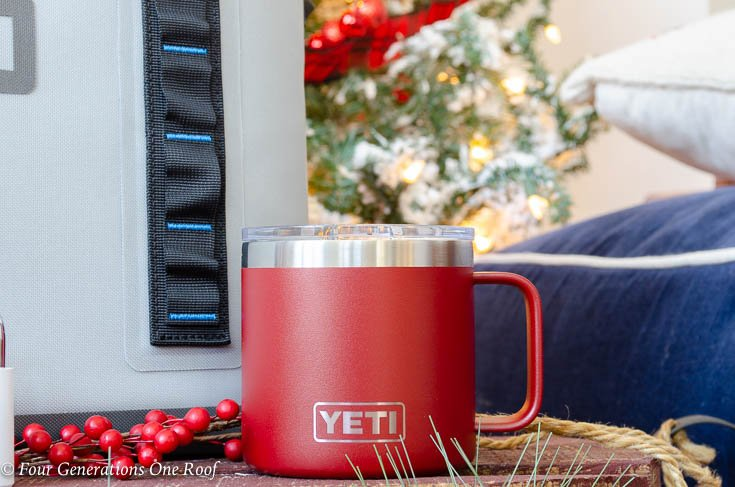 Cool Useful gift Ideas for everyone Yeti Hopper Flip Cooler Red Rambler Mug