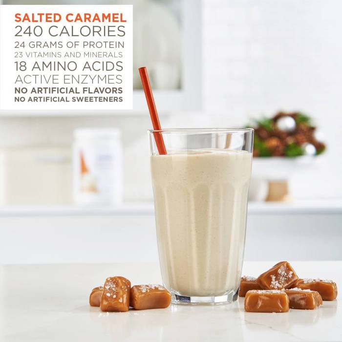 Salted Caramel Meal Replacement Shake - My secret to a balanced lifestyle that works