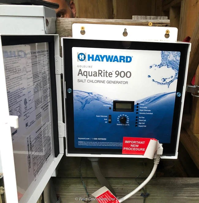 Hayward Aquarite Salt Chlorination