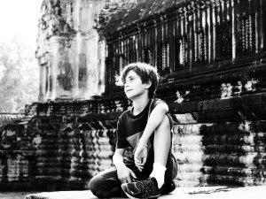 Miles at Angkor