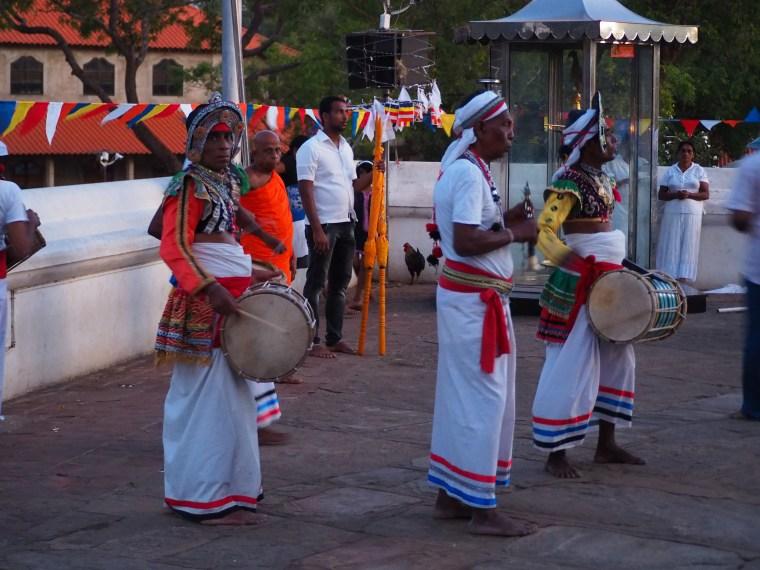 Temple Drummers Kataragama