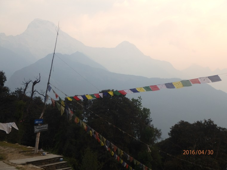 Annapurna in the Distance
