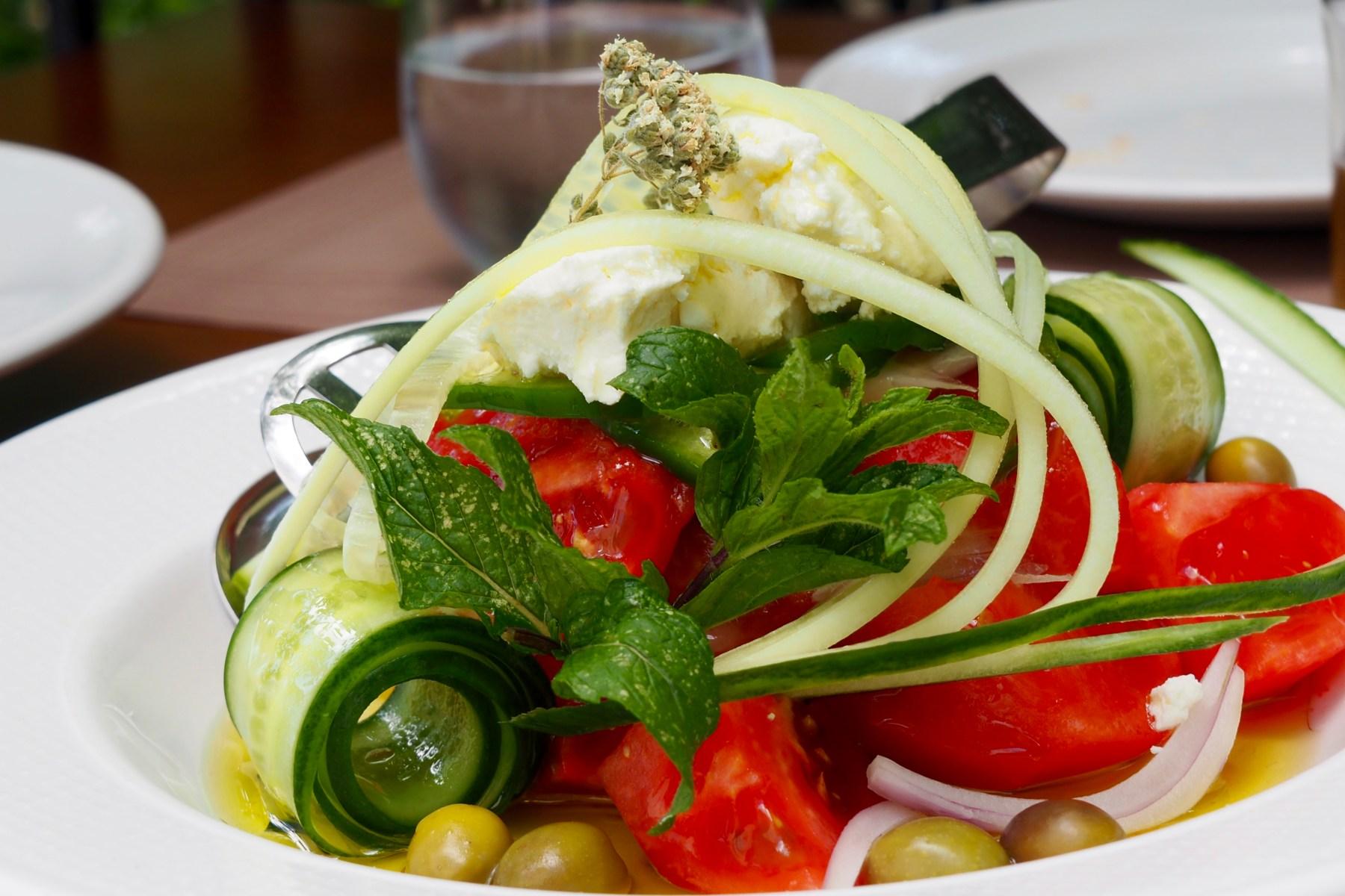 Lunch at Lefteris Taverna, Naxos, Greece