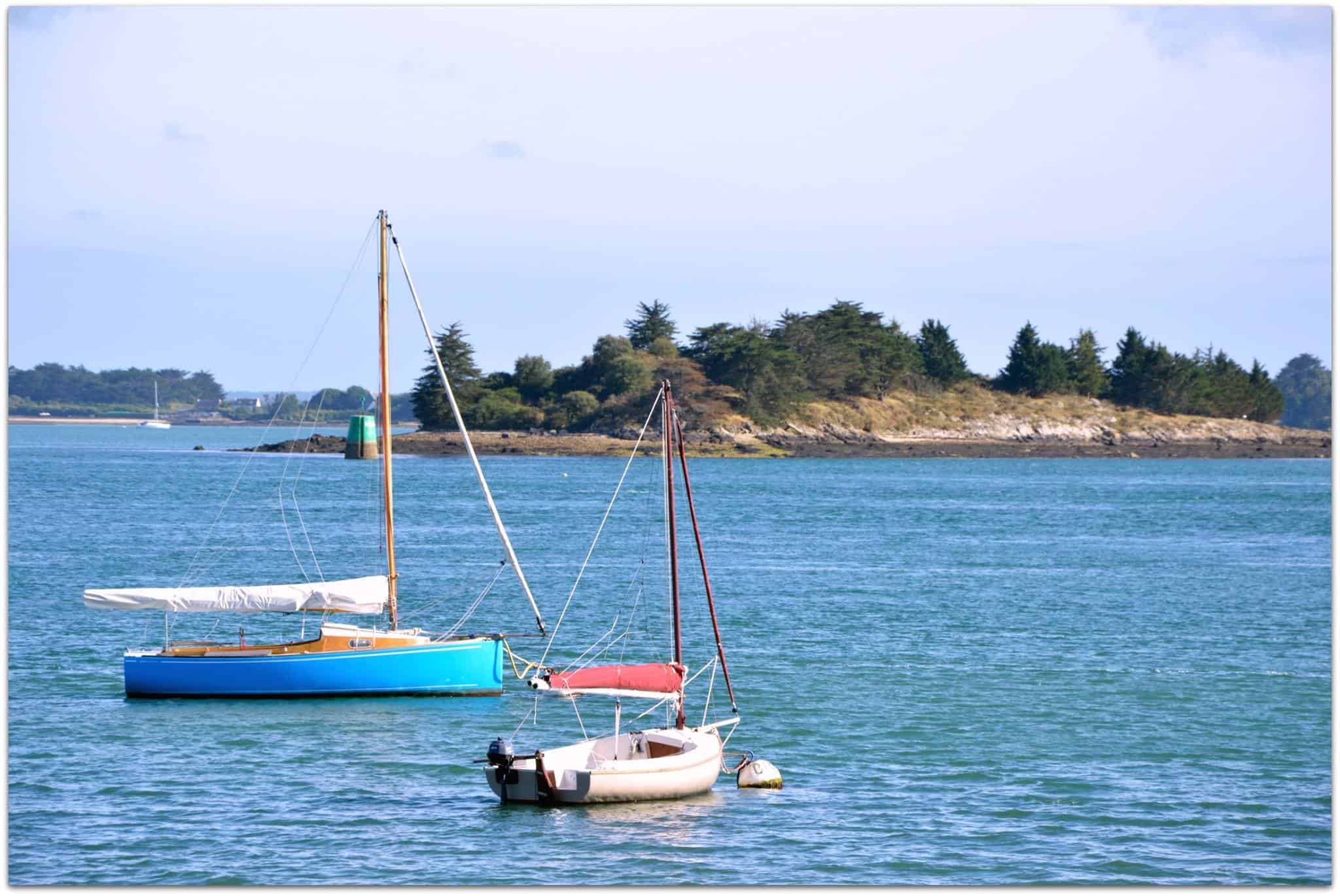Golf of Morbihan - some of the plenty sailing boats