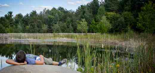 Anton in the Wildcenter in the Adirondacks National Park