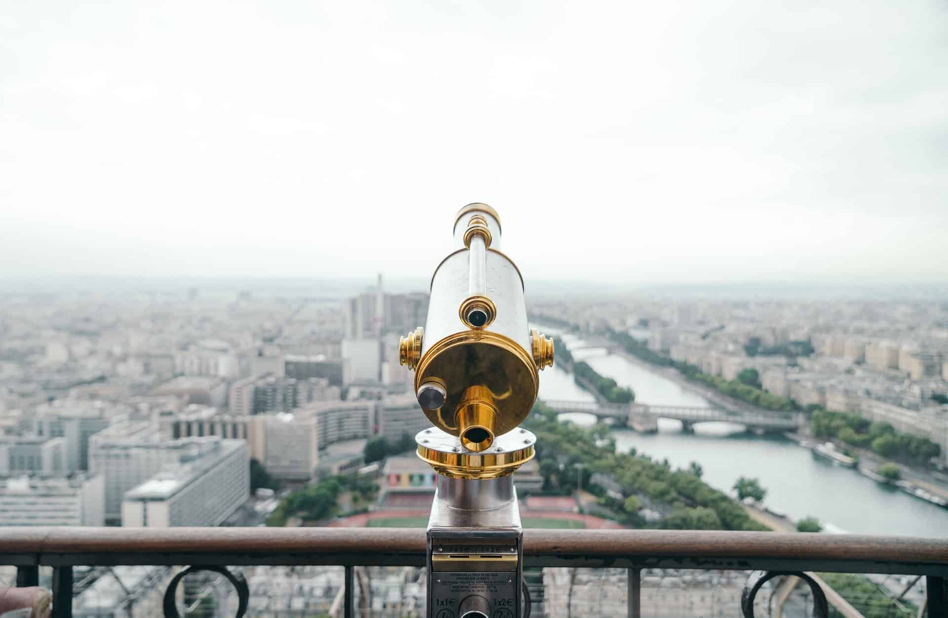 if you're hotel is not coming with a view, visit a landmark with a view -for example Montparnasse! - 10 best hotels under 100€ in Paris