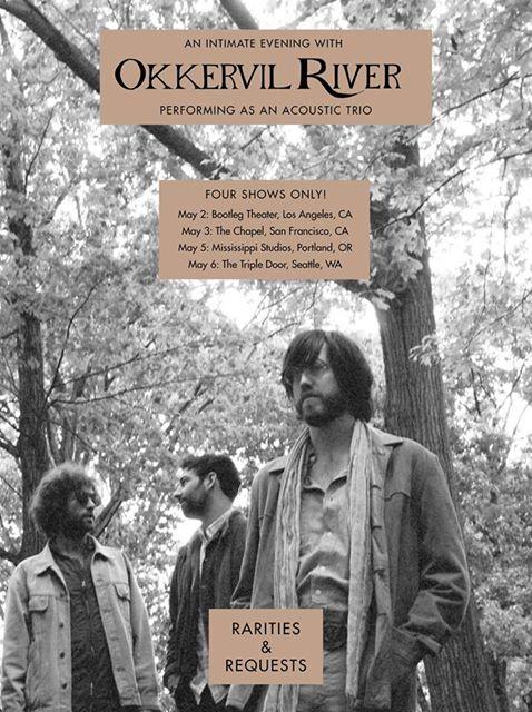 Okkervil River tour poster