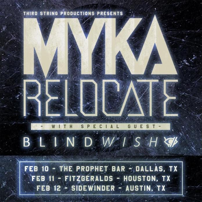 Myka Relocate Texas tour