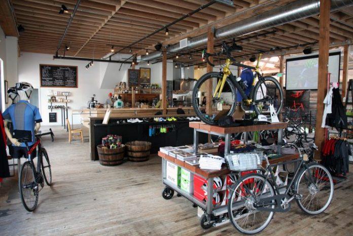Métier's bike shop