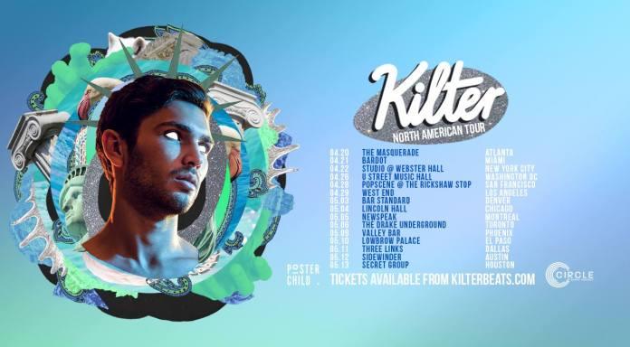 Kilter tour poster
