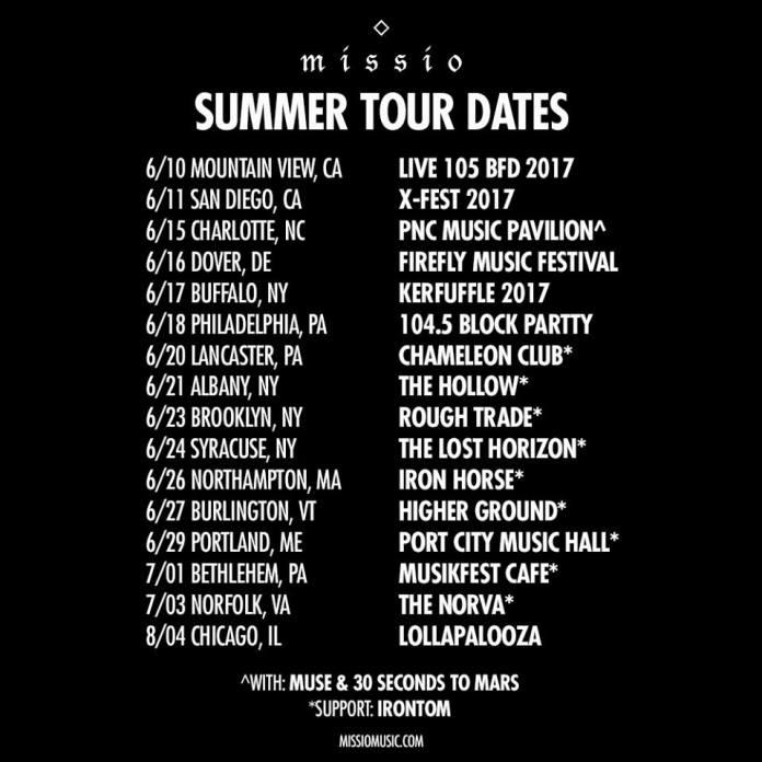 Missio tour poster