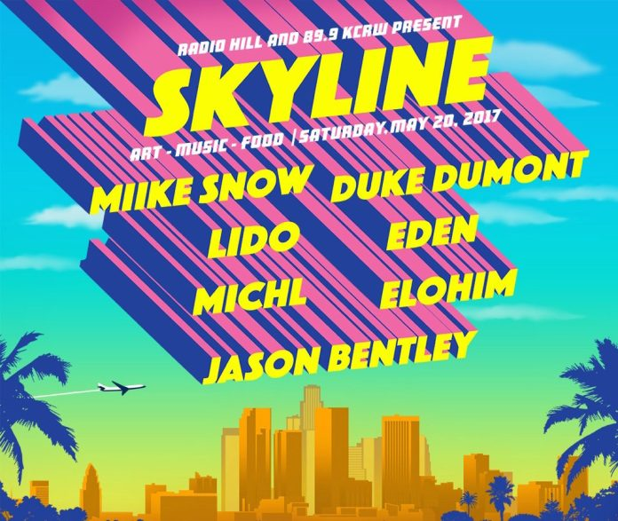 Skyline: Art, Music, Food poster