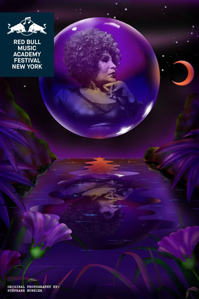 Elza Soares RBMA poster