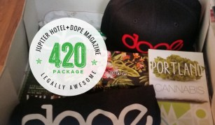 Jupiter Hotel's 420 Package