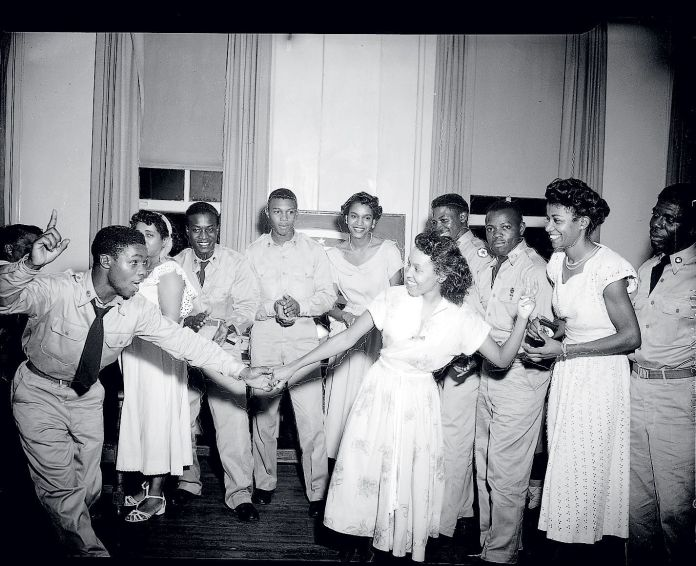 dancing at DC's first YMCA