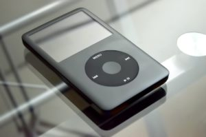 MP3 player (ok ok it's an iPod)
