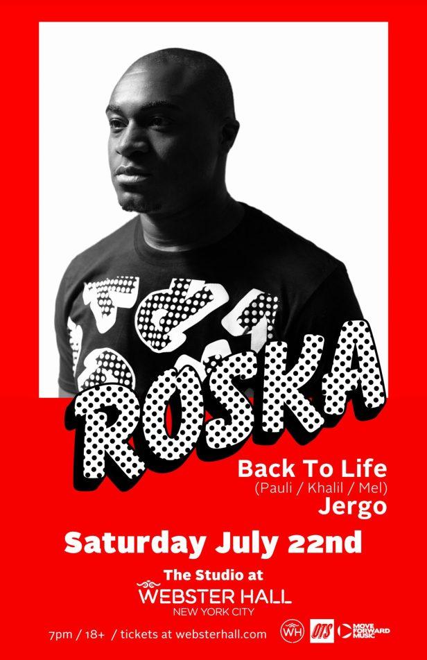 Roska show poster