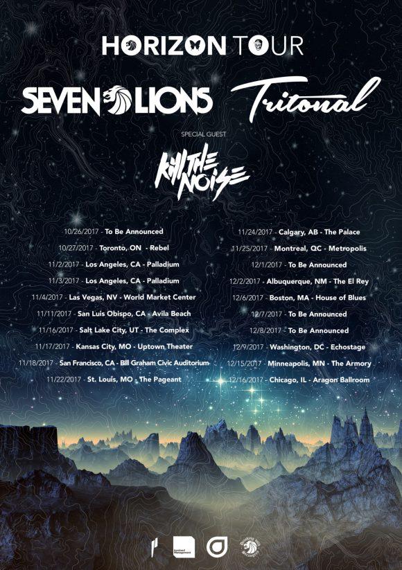 Tritonal tour poster