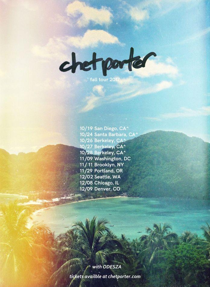 Chet Porter tour poster