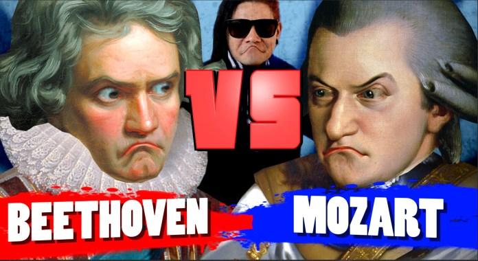 Beethoven vs Mozart