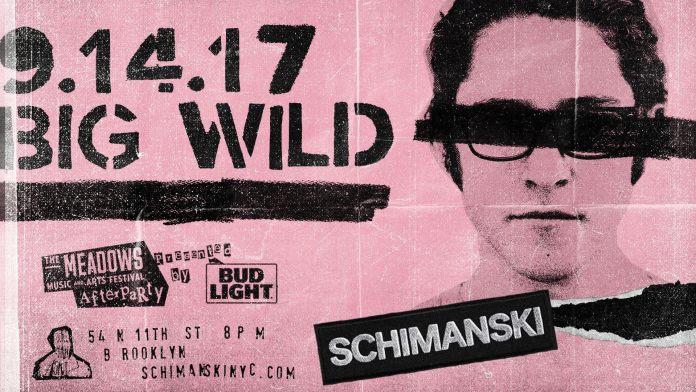 Big Wild Schimanski poster