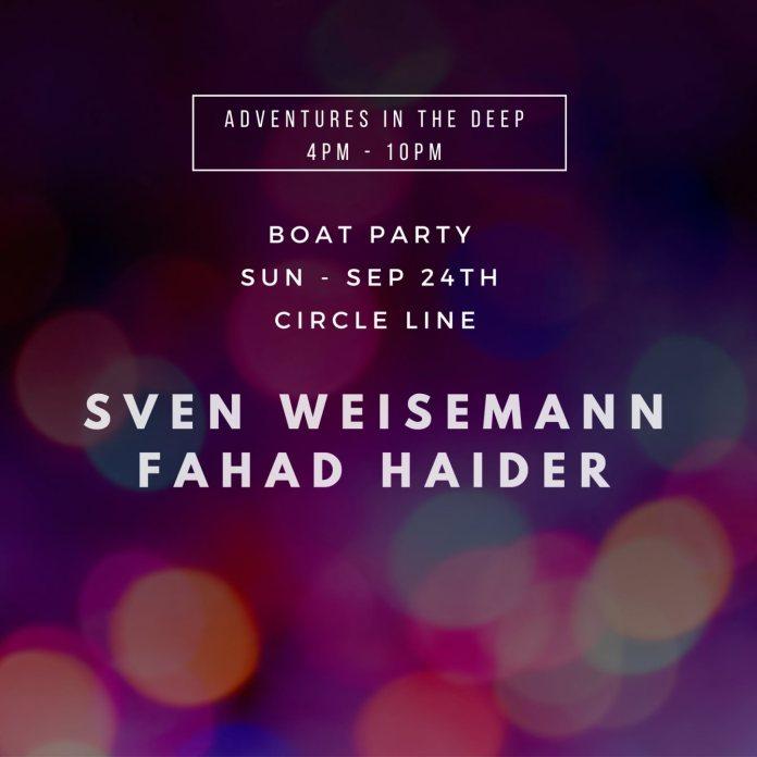 sven weisemann circle line cruises show poster with fahad haider
