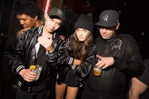 Alex English, Callie Reiff, DJ Dali perform at Girls & Boys, now of The Function at Schimanski, at Webster Hall on October 16, 2015