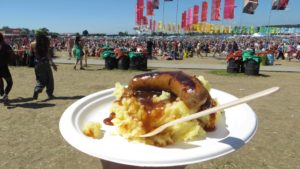 food to fix music festivals not just music