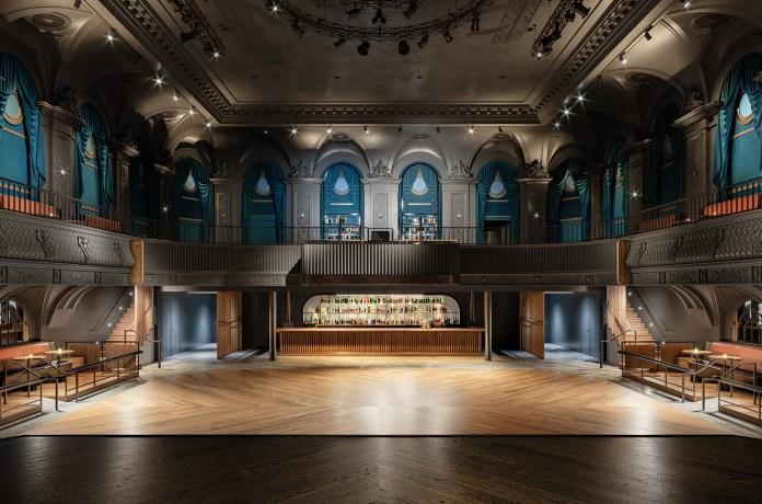 August Hall rendering