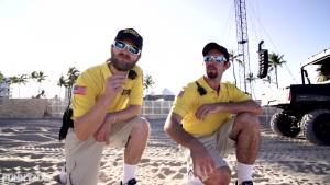 beach cops safety at music festivals