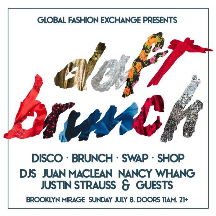 Juan MacLean Nancy Whang Daft Brunch lineup poster