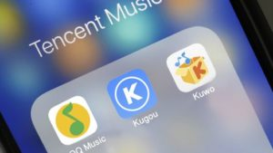 Tencent Music apps