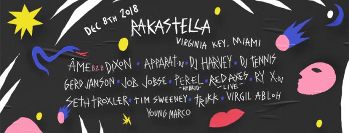 Rakastella 2018 lineup poster