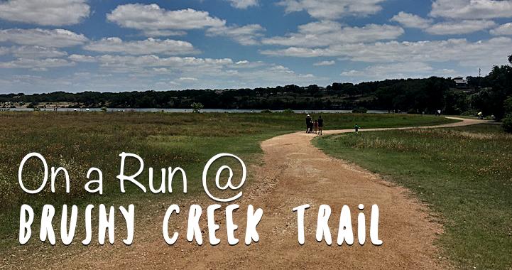 On a Run at Brushy Creek Trail